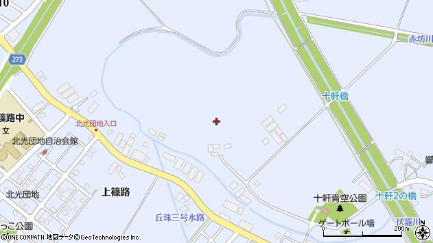 〒002-8052 北海道札幌市北区篠路町上篠路の地図