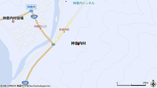 〒045-0301 北海道古宇郡神恵内村神恵内村の地図