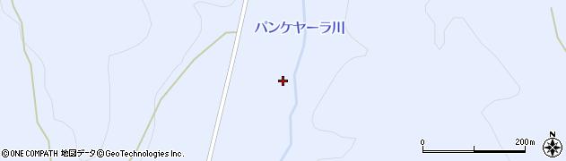 パンケヤーラ川周辺の地図