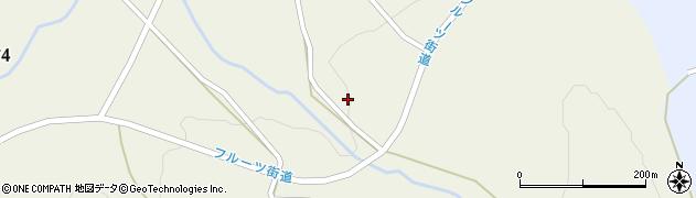 仁木町火葬場周辺の地図