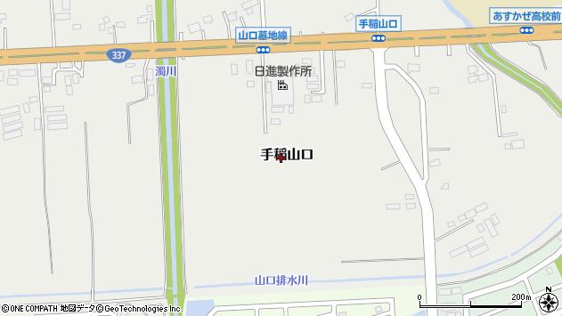 〒006-0860 北海道札幌市手稲区手稲山口の地図