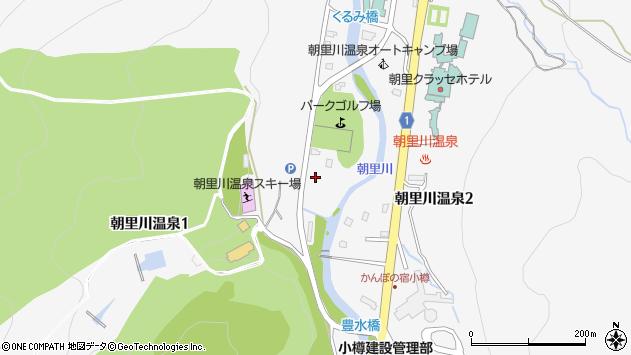 〒047-0154 北海道小樽市朝里川温泉の地図