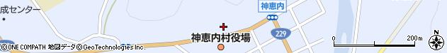 北海道古宇郡神恵内村周辺の地図