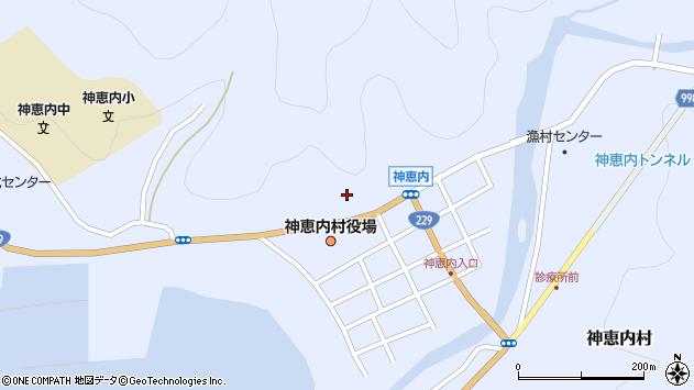 〒045-0300 北海道古宇郡神恵内村(以下に掲載がない場合)の地図