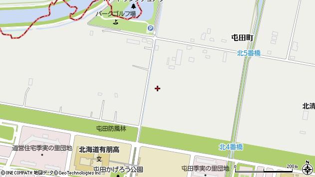 〒002-0865 北海道札幌市北区屯田町の地図