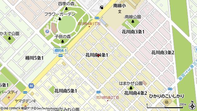 〒061-3204 北海道石狩市花川南四条の地図