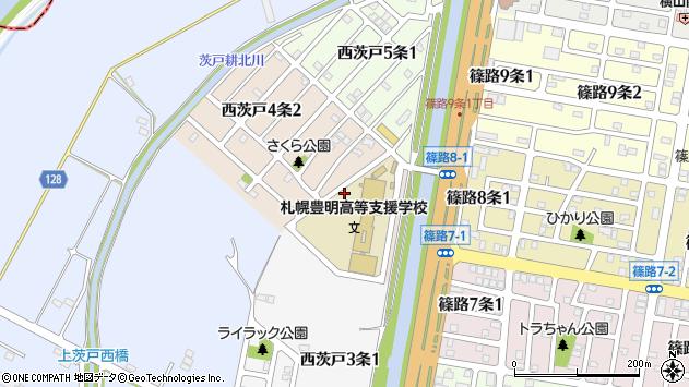 〒002-8034 北海道札幌市北区西茨戸四条の地図