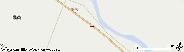 国道38号線周辺の地図