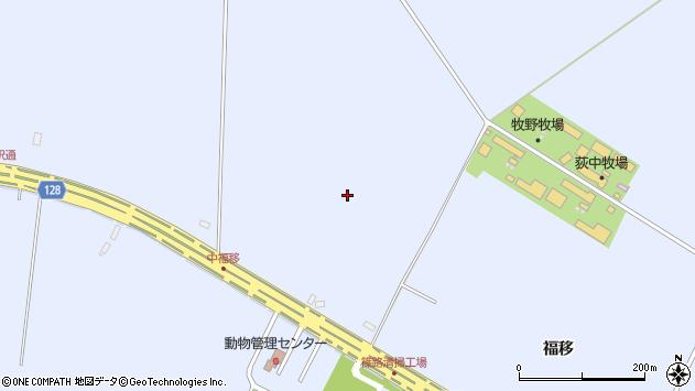 〒002-8055 北海道札幌市北区篠路町福移の地図