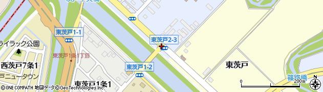 東茨戸2‐3周辺の地図