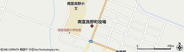 北海道空知郡南富良野町周辺の地図