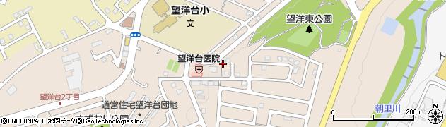 北海道小樽市望洋台周辺の地図