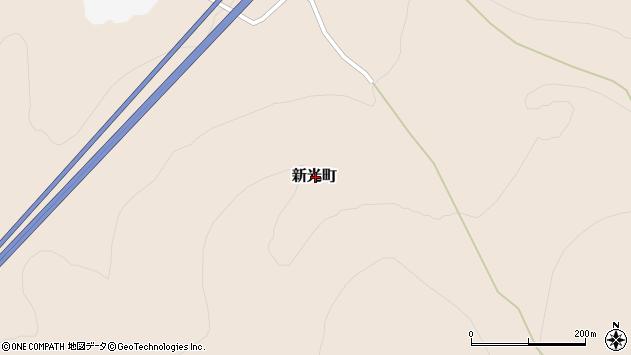 〒047-0153 北海道小樽市新光町の地図