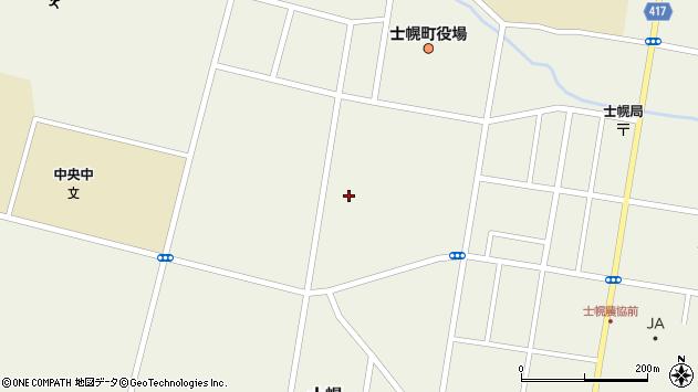 〒080-1226 北海道河東郡士幌町大通西の地図