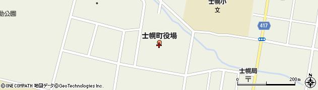 北海道河東郡士幌町周辺の地図