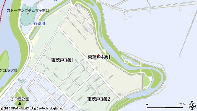 〒002-8045 北海道札幌市北区東茨戸四条の地図