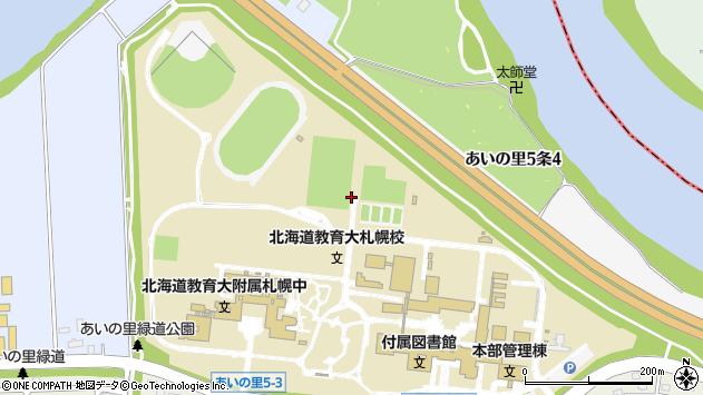 〒002-8075 北海道札幌市北区あいの里五条の地図