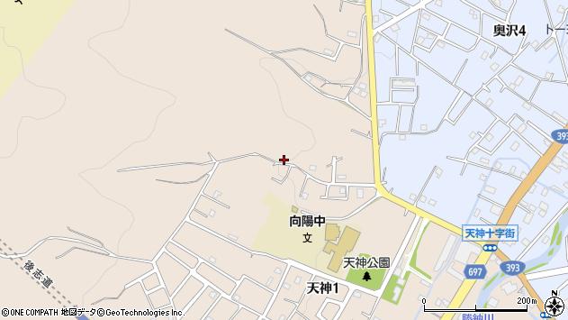 〒047-0011 北海道小樽市天神の地図