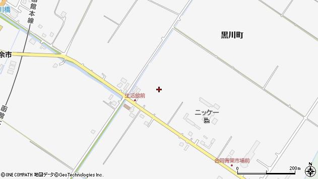 〒046-0003 北海道余市郡余市町黒川町の地図