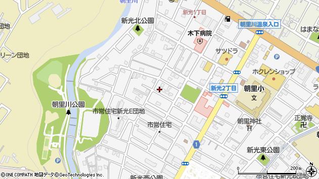 〒047-0152 北海道小樽市新光の地図