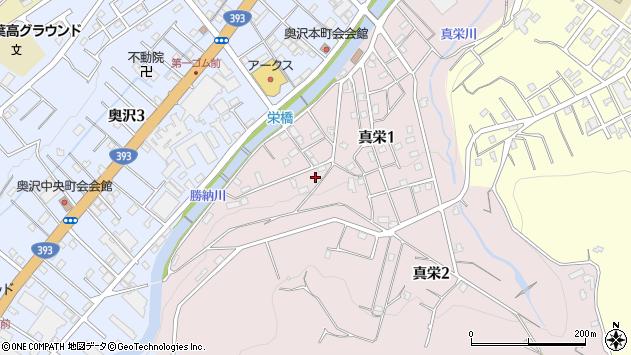 〒047-0003 北海道小樽市真栄の地図
