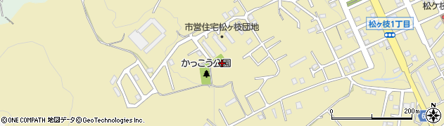 北海道小樽市松ケ枝周辺の地図