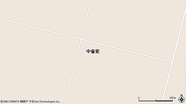〒080-1273 北海道河東郡士幌町中音更の地図