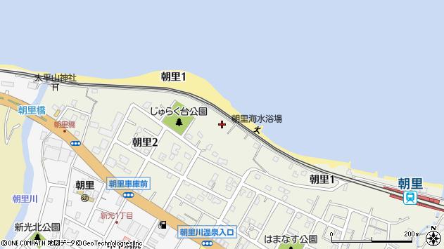 〒047-0151 北海道小樽市朝里の地図