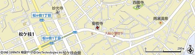 智龍山聖教寺周辺の地図