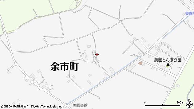 〒046-0014 北海道余市郡余市町美園町の地図