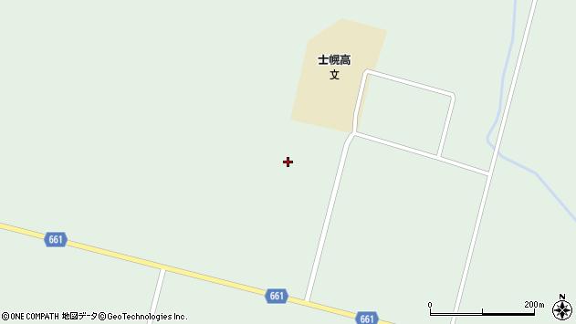 〒080-1275 北海道河東郡士幌町コマクサの地図