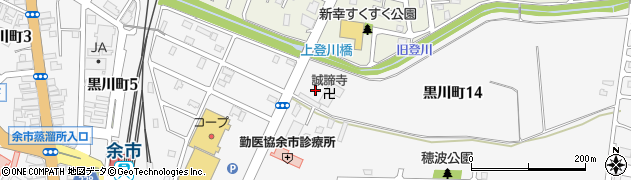 誠諦寺周辺の地図
