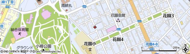 北海道小樽市花園周辺の地図