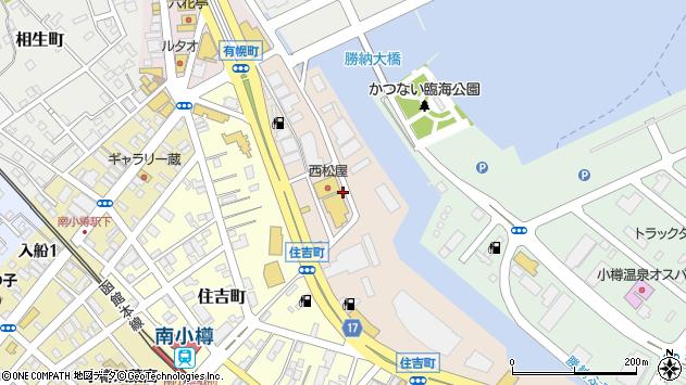 〒047-0006 北海道小樽市有幌町の地図