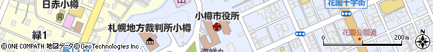 北海道小樽市周辺の地図