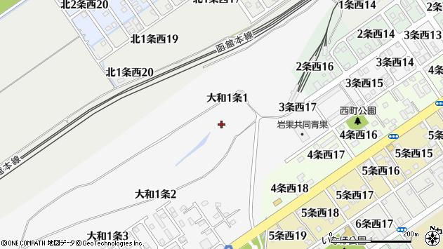 〒068-0851 北海道岩見沢市大和一条の地図