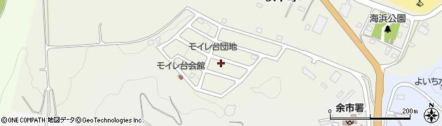 北海道余市郡余市町浜中町周辺の地図