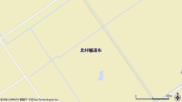 〒068-1215 北海道岩見沢市北村幌達布の地図