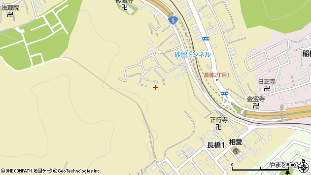 〒047-0036 北海道小樽市長橋の地図
