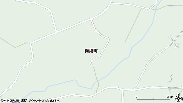 〒046-0023 北海道余市郡余市町梅川町の地図