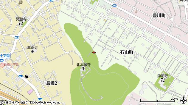 〒047-0038 北海道小樽市石山町の地図
