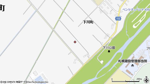 〒061-0205 北海道石狩郡当別町下川町の地図