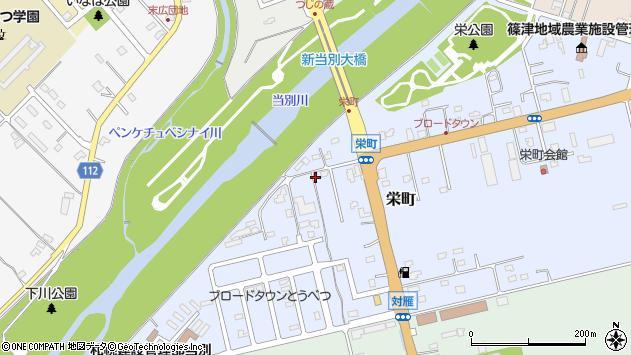 〒061-0216 北海道石狩郡当別町栄町の地図