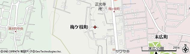 北海道小樽市梅ケ枝町周辺の地図