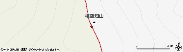 稚空知山周辺の地図