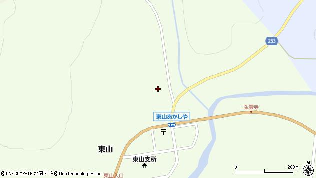 〒079-2133 北海道富良野市東山1710番地の地図