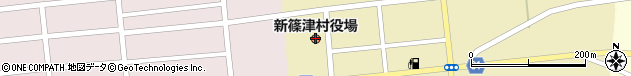 北海道石狩郡新篠津村周辺の地図