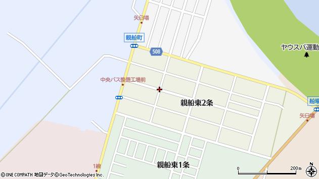 〒061-3366 北海道石狩市親船東二条の地図
