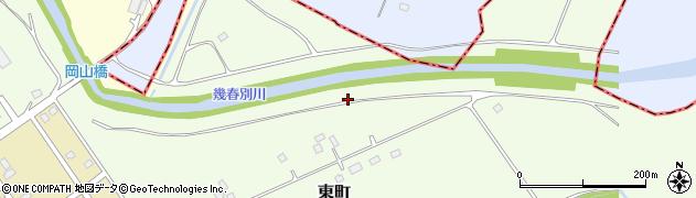 幾春別川周辺の地図