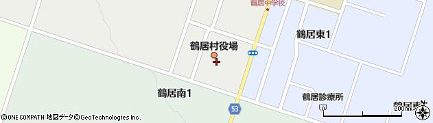 北海道阿寒郡鶴居村周辺の地図